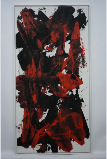 Abstract N° 1070 -Diptych-,...