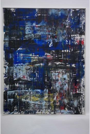 Abstract N°801b, 2018, signé