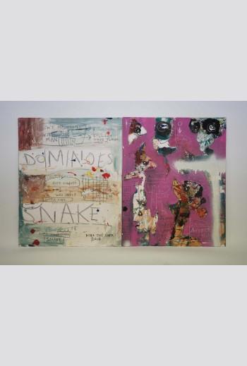 Dominoes Snake, 2018,...
