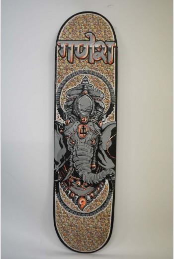 Ganesh, 2018, signé