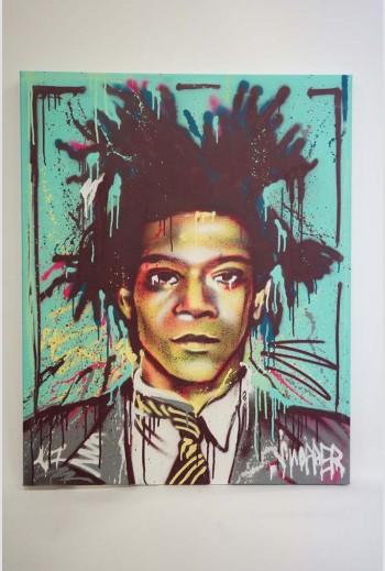 Green Basquiat- 2017 - signé