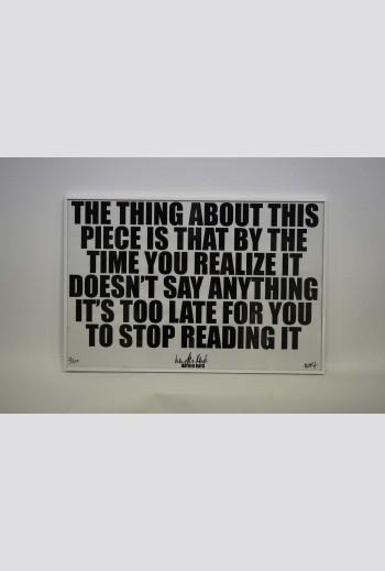 I.O.U  time -The thing...