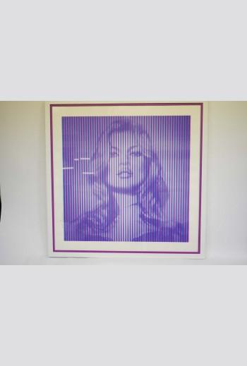 Kate Moss - cyan-magenta...