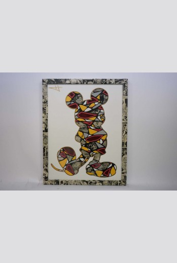 Shattered Mickey -White- -...