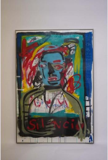 Silencio, 2017, signé