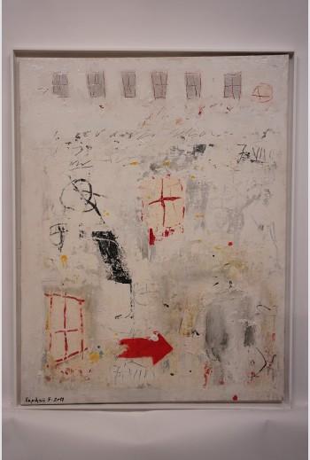 abstrait 47,  signé