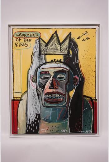 Coronation of the king -...