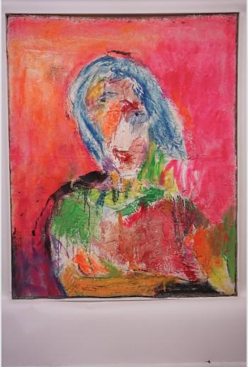 portrait 3,  signé