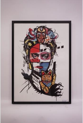 frida Kahlo, 2019, signé